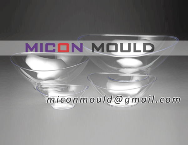 crystal oval bowl mould