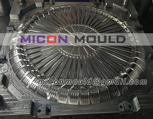 plastic fork mould