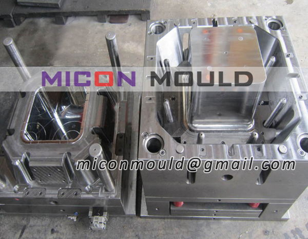 rectangle bucket mold