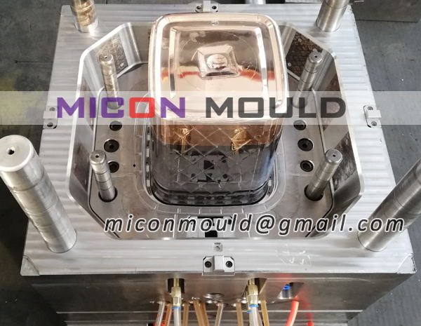 oil bucket mould